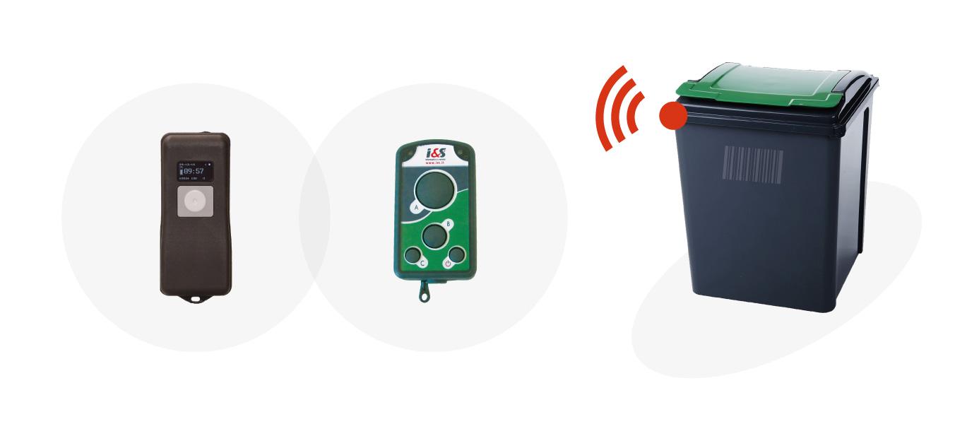 Lettori RFID Barcode portatili per la certificazione degli svuotamenti